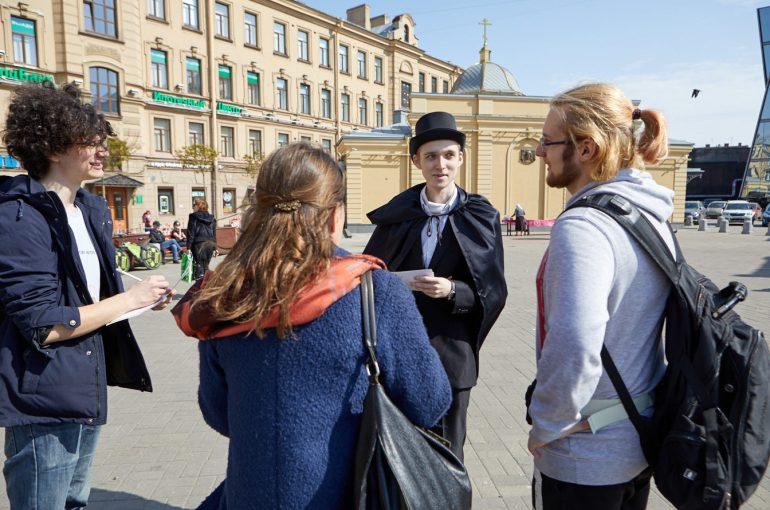 Jak się robi gry miejskie w Petersburgu?