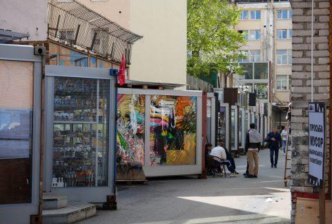 Zakupy i kawa w Lofty Etagi
