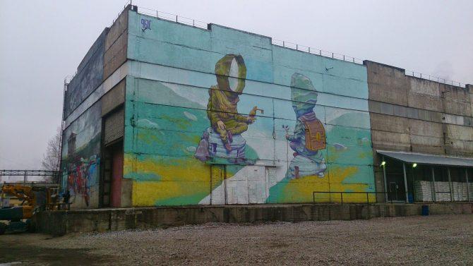 Eksplorowanie Muzeum Street Artu